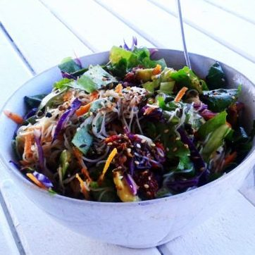 vermicelli summer salad